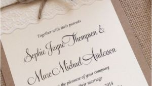 Antique Wedding Invitation Ideas Vintage Shabby Chic Wedding Invitations Yourweek