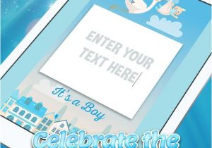 App for Baby Shower Invitations App Shopper It S A Boy Baby Shower Invitations Graphy