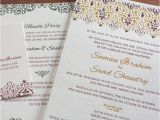 Arabic Wedding Invitations Wording Victorian Letterpress Wedding Invitation Gallery Vintage