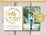 Are Graduation Announcements and Invitations the Same Thing College Graduation Invitation Printable or Printed High