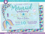 Ariel Baby Shower Invitations Mermaid Baby Shower Invitation Little Mermaid On the Way Baby