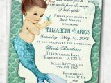 Ariel Baby Shower Invitations Under the Sea Baby Shower Ideas Baby Ideas