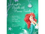 Ariel Party Invites Ariel Birthday Invitation 4 25 Quot X 5 5 Quot Invitation Card