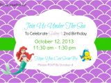 Ariel Party Invites the Little Mermaid Ariel Birthday Party Ideas Food