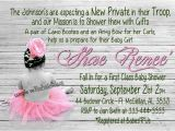 Army Baby Shower Invitations Military or Army Baby Shower Invitation by