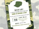 Army Camo Baby Shower Invitations 136 Best Baby Shower Invitations Images On Pinterest