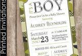 Army Camo Baby Shower Invitations Printed Camo Baby Shower Invitation Army Baby Shower