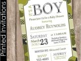 Army Camo Baby Shower Invitations Printed Camo Baby Shower Invitation Army Baby Shower
