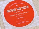 Around the House Bridal Shower Invitations Items Similar to Around the House Bridal Shower On Etsy