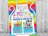 Art themed Birthday Party Invitation Wording 25 Best Ideas About Art Birthday Parties On Pinterest