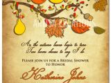 Autumn themed Baby Shower Invitations Fall themed Baby Shower Invitations