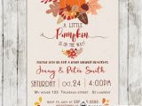 Autumn themed Baby Shower Invitations Fall themed Pumpkin Baby Shower Invitations Personalized