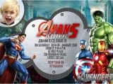 Avengers Birthday Invitations Custom Free 34 Superhero Birthday Invitation Templates Free Sample