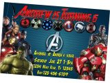 Avengers Birthday Invitations Custom Free Avengers Invitation Personalized Captain America Birthday