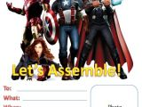 Avengers Birthday Invitations Custom Free Birthday Kids Printables Avengers
