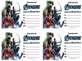 Avengers Birthday Invitations Custom Free Free Printable Avengers Birthday Invitations All Free