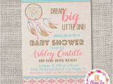 Aztec Baby Shower Invitations Dream Catcher Tribal Aztec Boho Baby Shower Invitation