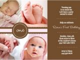 Baby Birth Party Invitation Message 1st Birthday Invitation Wording Ideas From Purpletrail