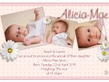 Baby Birth Party Invitation Message Birth Announcements Cards