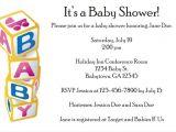 Baby Block Shower Invitations Baby Blocks Baby Shower Invitation Personalized Party Invites