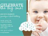 Baby Boy 1st Birthday Party Invitations Baby Boy First Birthday Invitations Free Invitation