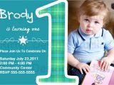 Baby Boy 1st Birthday Party Invitations Baby Boy First Birthday Party Invitation by Ritterdesignstudio
