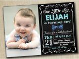 Baby Boy 1st Birthday Party Invitations Baby Boy Girl First Birthday Invitation 1st by Printablestoyou