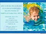 Baby Boy 2nd Birthday Invitation Wording Gorgeous Plan for Boys Pool Party Ideas Tedxumkc Decoration