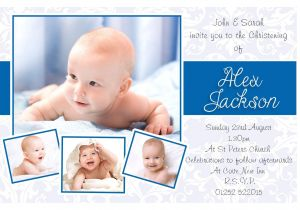 Baby Boy Baptism Invites Baptism Invitations Boy Baptism Invitations