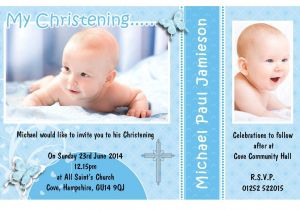 Baby Boy Baptism Invites Invitation Card Christening Invitation Card Christening