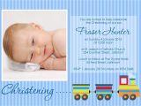 Baby Boy Baptism Invites Invitation for Christening Layout Invitation for