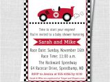 Baby Boy Race Car Shower Invitations Boy Race Car Baby Shower Invitation Boy Baby by