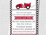 Baby Boy Race Car Shower Invitations Boy Race Car Baby Shower Invitation Boy Baby by