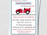 Baby Boy Race Car Shower Invitations Boy Race Car Baby Shower Invitation Boy Baby Shower