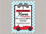 Baby Boy Race Car Shower Invitations Race Car Baby Shower Invitation Race Car Baby Shower Boy