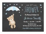 Baby Boy Shower Invitations with Teddy Bears Boy Baby Shower Invitations