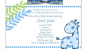 Baby Boy Shower Invitations Wording Ideas Baby Shower Invitation Wording for A Boy