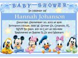 Baby Disney Baby Shower Invitations Baby Mickey Disney Babies Baby Shower Invitations