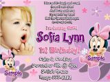 Baby First Birthday Invitation Card Matter 1st Birthday Invitation Wording and Party Ideas – Bagvania