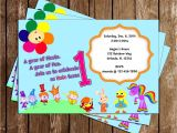 Baby First Tv Birthday Invitations Novel Concept Designs Baby First Tv 1st Birthday