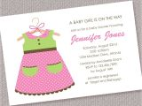 Baby Girl Shower Invitation Wording Examples Baby Girl Shower Invitations Wording