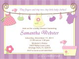 Baby Girl Shower Invitations Printables Baby Shower Invitation Baby Clothes Purple Pink and Yellow