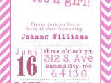 Baby Girl Shower Invitations Printables Template Free Printable Baby Shower Girl Invitation
