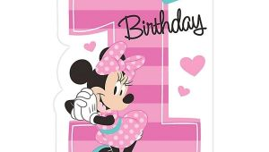 Baby Minnie Mouse First Birthday Invitations Baby Minnie Mouse First 1st Birthday Invitations Birthday