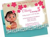 Baby Moana Birthday Invitation Template Baby Moana Birthday Invitation Moana Invitation Girl