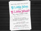 Baby Reveal Party Invitation Templates Gender Reveal Invitations Template Best Template Collection
