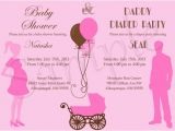 Baby Shower and Diaper Party Invitation Wording Baby Shower and Diaper Party Invitation by