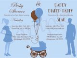 Baby Shower and Diaper Party Invitations Baby Shower and Diaper Party Invitation by