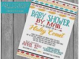 Baby Shower by Mail Invitations Baby Shower Invitation Beautiful when to Mail Baby Shower