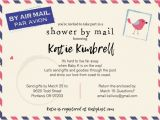 Baby Shower by Mail Invitations Long Distance Baby Shower Shower by Mail